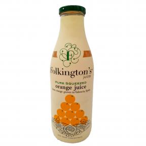 Apelsīnu sula FOLKINGTON'S, 1 L