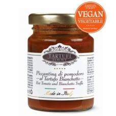 Aštrus pomidorų ir Bianchetto trumų (triufelių) padažas TARTUFI JIMMY, 130 g