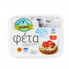 Avių - ožkų pieno sūris FETA su 40% sumažintu druskos kiekiu, sūryme, 400g