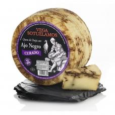 Avių pieno sūris su juodaisiais česnakais, rieb. 55%, Montesinos, 200 g