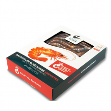 Šviežios baltakojės blyškiosios krevetės (180 g)