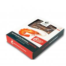 Šviežios baltakojės blyškiosios krevetės (380 g) - bus rugpjūčio viduryje