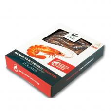 Šviežios baltakojės blyškiosios krevetės (480 g)