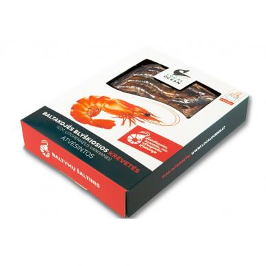 Šviežios baltakojės blyškiosios krevetės (280 g)
