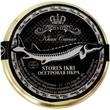 Baltojo eršketo ikrai Khan Caviar, 30g 2