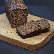 Ruginė plikyto raugo duona Borodino