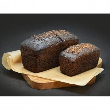 Ruginė plikyto raugo duona Borodino 2