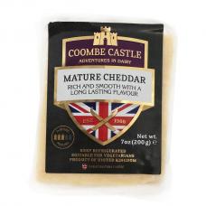 Brandintas baltasis čederio sūris, Coombe Castle, 200 g