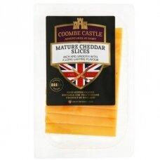 Brandintas spalvotas čederio sūris Coombe Castle, 100 g