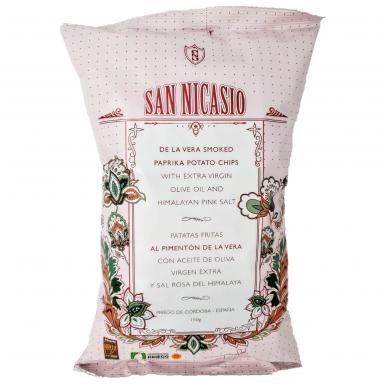 Bulvių traškučiai su rūkyta paprika SAN NICASIO, 150 g