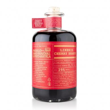 """Vyšnių likeris """"Cherry Brandy"""", 29% alk. tūrio, 0,5 l"""