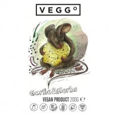 Česnakų ir žolelių veganiškas gaminys, 200 g