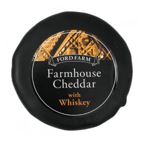 Čedaras siers ar viskiju Ford Farm, 200g