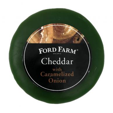 Čederio sūris su karamelizuotais svogūnais Ford Farm, 200g