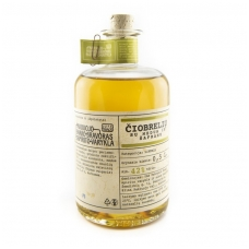 Čiobrelių likeris su medum ir šafranu, 42% alk. tūrio, 0.5 l