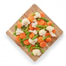 Daržovių mišinys Summer-mix, IQF, 2.5 kg (ŠALDYTA)