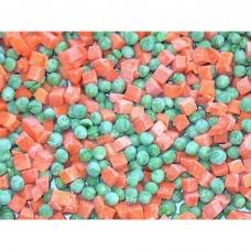 Daržovių mišinys žirneliai/morkos (50/50), IQF, 2.5 kg (ŠALDYTA)