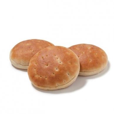 Duona Hamburger Polarbrod, 11 cm, 1 pak. - 8 vnt.*67,5 g (ŠALDYTA)
