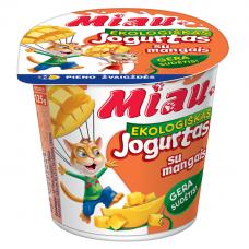 "EKO jogurtas ""MIAU"" su mangais, 3,2%, 125g"