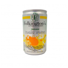 Gazuotas gėrimas INDIAN TONIC WATER FOLKINGTON'S, 150 ml