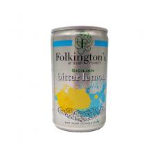 Gazuotas gėrimas SICILIAN BITTER LEMON FOLKINGTON'S, 150 ml