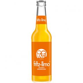 Gaivusis gazuotas gėrimas su apelsinų sultimis Fritz Limo Orange, 330ml