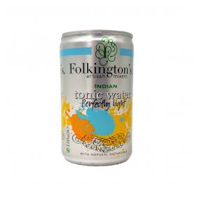 Gāzēts dzēriens INDIAN TONIC WATER PERFECTLY LIGHT FOLKINGTON'S, 150ml