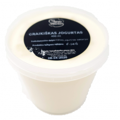 Graikiškas jogurtas, 400 ml