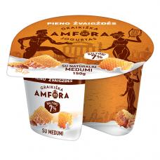 """Jogurtas """"GRAIKIŠKA AMFORA"""" su medum, 150g"""