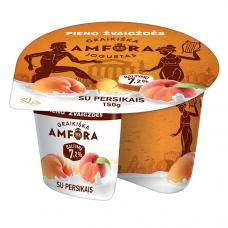 """Jogurtas """"GRAIKIŠKA AMFORA"""" su persikais, 150g"""