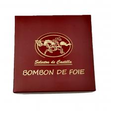 Juodojo šokolado saldainiai su Foie Gras įdaru (9 vnt.)