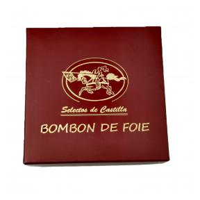 Tumšās šokolādes konfektes ar Foie Gras pildījumu (9 gab.)