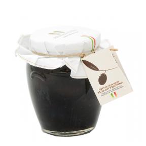 Lielās melnās olīvas PRIMADAUNIA, lielums GG, 580ml
