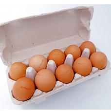 Kaimiški kiaušiniai, A klasė, įvairaus dydžio, 10 vnt.