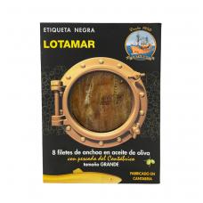 Kantabrijos ančiuviai alyvuogių aliejuje LOTAMAR, 8 filė, 75 g