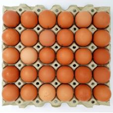 Kiaušiniai, A klasė, L dydis, 30 vnt.