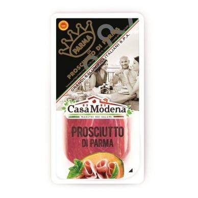 Kiaulienos kumpis Prosciutto Di Parma DOP, pjaustytas, vytintas, Casa Modena, 70 g