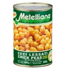 Konservuoti avinžirniai, Metelliana, 400 g (grynasis kiekis 240 g)