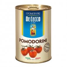 Konservuoti cherry pomidorai savo sultyse, DeCecco, 400g (gr.k. 240g)
