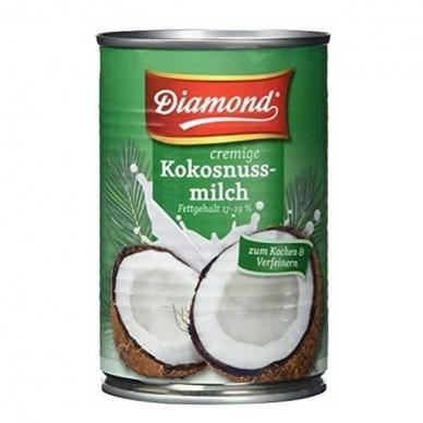 Kokoso pienas, 82%, Diamond, 400 ml