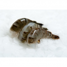 Krevetės, b/g, nelukštentos, įpjautos, 16/20, Black Tiger (P.Monodon), IQF, 1 kg (gr. k. 750 g) (ŠALDYTA)