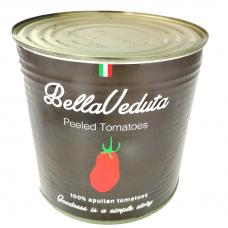 Lupti pomidorai savo sultyse PRIMADAUNIA, 2550 g (grynas svoris 1650 g)