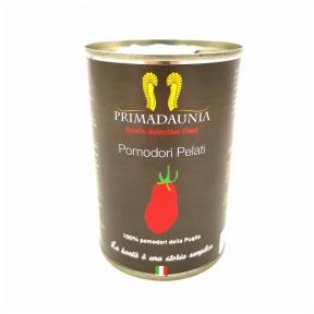 Mizoti tomāti savā sulā PRIMADAUNIA, 400g