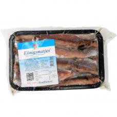 Matjes silkė, Königsmatjes, 450 g (ŠALDYTA)