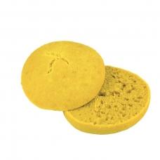 Mėsainio bandelė, geltona, perpjauta, 100 g (ŠALDYTA)
