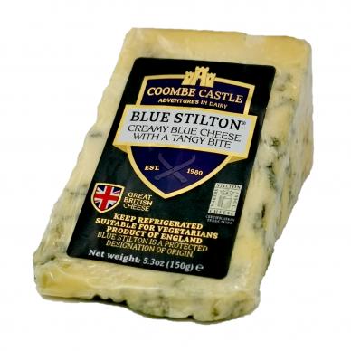 Mėlynasis sūris BLUE STILTON, Coombe Castle,150 g
