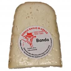 """Ožkos gyvo pieno sūris """"Banda"""", apie 220g"""