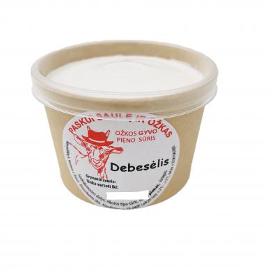 Ožkos gyvo pieno sūris, 250ml