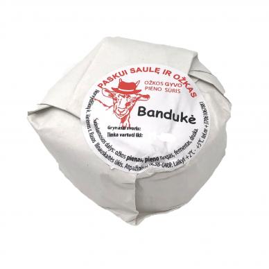 """Ožkos gyvo pieno sūris """"Bandukė"""", apie 300 g"""