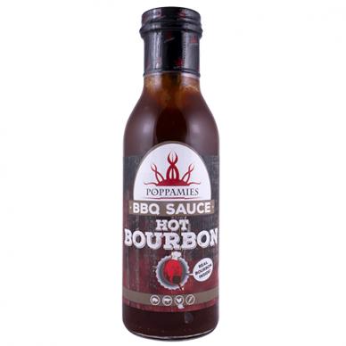 """Padažas-marinatas """"Hot Bourbon BBQ"""" 410g"""